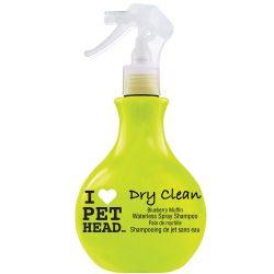 Spray Pet Head Dry Clean