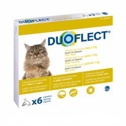 Duoflect antiparasitaire chat -5Kg