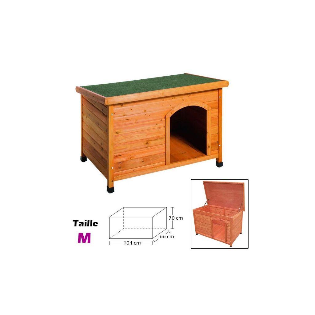 niche en bois taille m couchage pour chien. Black Bedroom Furniture Sets. Home Design Ideas