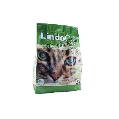 Litiere Lindocat Natural Paper 6L
