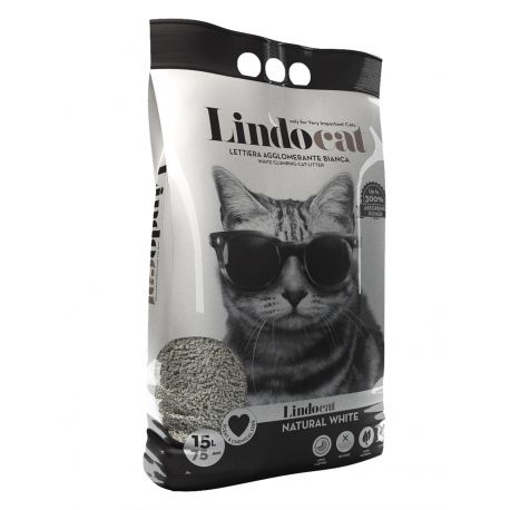 Litière Lindocat Natural White 15L
