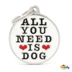 Médaille Charms Need Dog