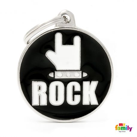 Médaille Charms Rock