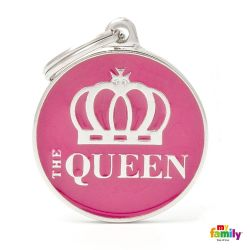 Médaille Charms Queen