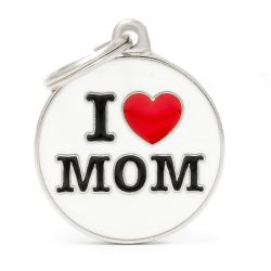 Médaille Charms Love Mom