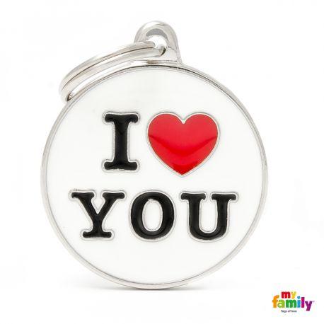 Médaille Charms Love You