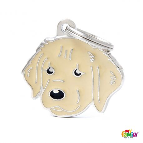 Médaille Friends Golden Retriever