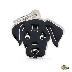 Médaille Friends Labrador noir