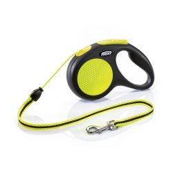 Laisse retractable Flexi New Neon Corde 5m