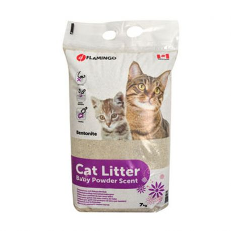 Litière chat Baby Powder 7 Kg