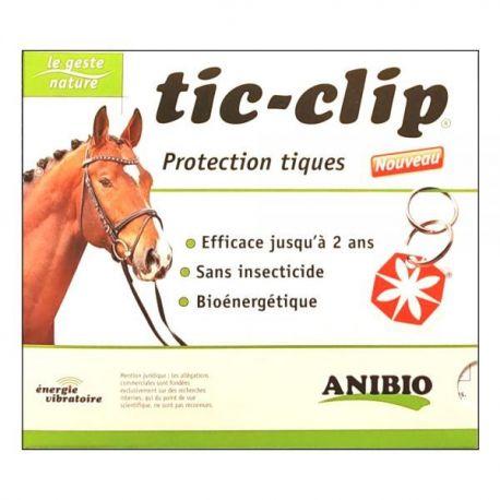 Medaille Tic-Clip pour chevaux