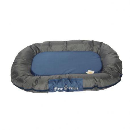 Coussin waterproof OXFORD bleu L 95