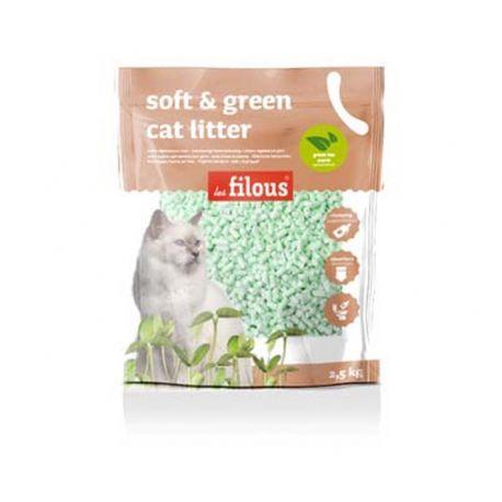Litière Soft and Green Thé Vert 2,5KG
