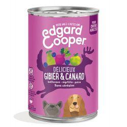 Boîte chien Gibier et Canard 400g Edgar Cooper