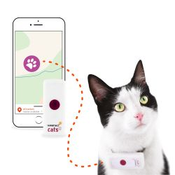 Collier GPS chat Weenect 2