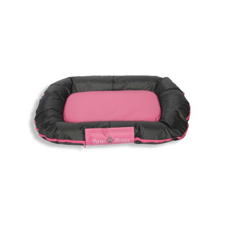 Coussin rectangulaire S rose