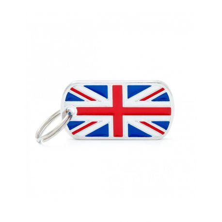 Médaille Flags drapeau Royaume-Uni