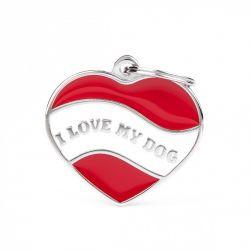 Médaille Charms coeur