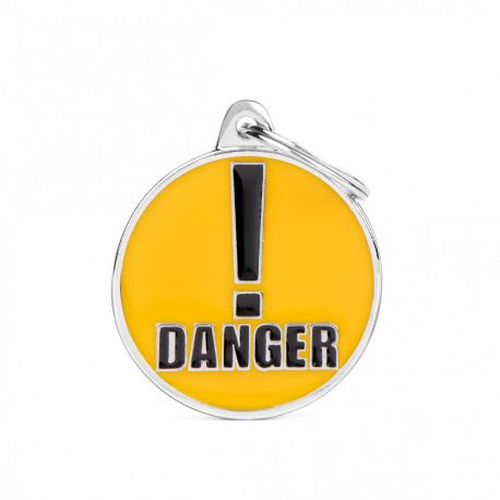 Médaille Charms Danger