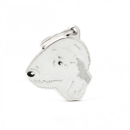 Médaille Friends Bedlington Terrier
