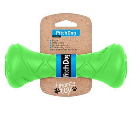 PitchDog haltère 19cm vert