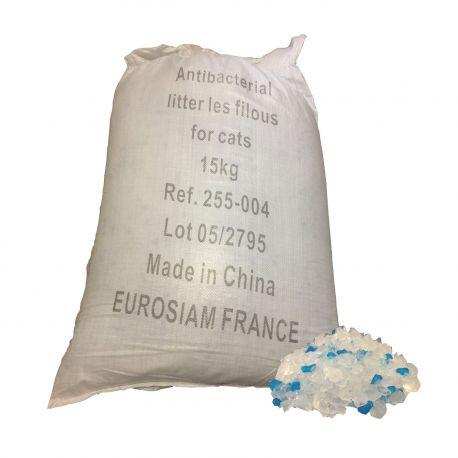 Litière silice 15Kg Raphia