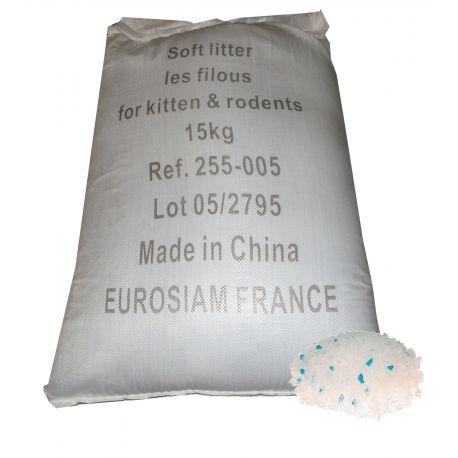 Litière silice Fine 15Kg Raphia