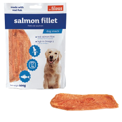 Friandise Salmon Filet 100g