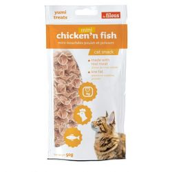 Friandises Mini Chicken'N'Fish 50g