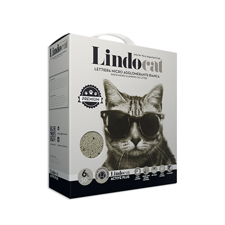 Litiere Lindocat Active Plus 6L