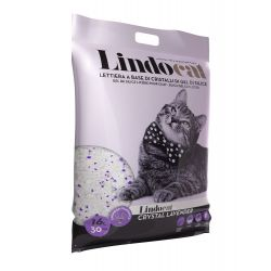 Litière Lindocat Silice Lavande 16L