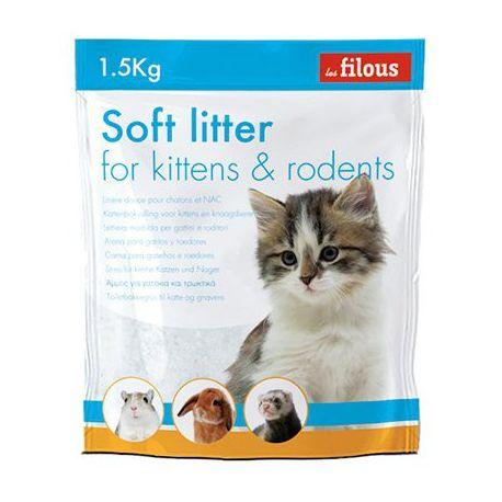Litière douce pour chatons