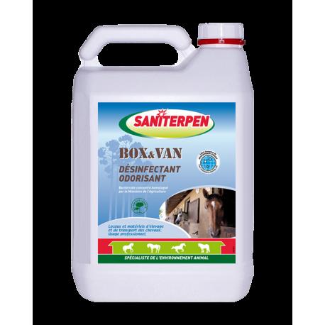 Désinfectant Odorisant Box & Van Saniterpen 5L
