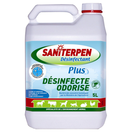 Désinfectant Plus Saniterpen 5L