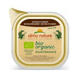 Almo Nature Menu Bio veau et légumes 300g