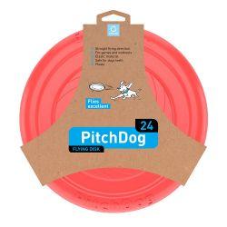 PitchDog Flying Disc 24cm rose
