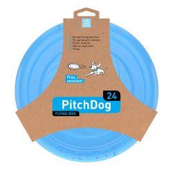 PitchDog Flying Disc 24cm bleu