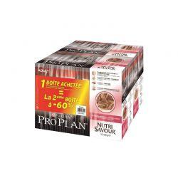 ProPlan Nutrisavour Adult Canard Sauce lot de 2