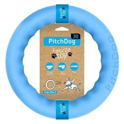 PitchDog Ring 28cm bleu