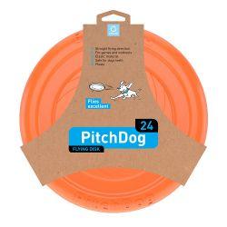 PitchDog Flying Disc 24cm orange