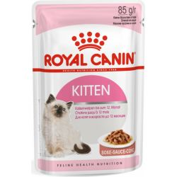 Royal Canin Kitten en sauce 12x85g