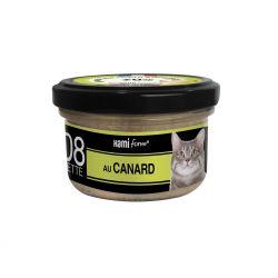 Cuisinés chats n°8 canard 80g