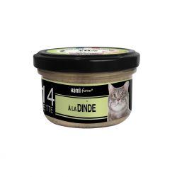 Cuisinés chats n°14 dinde 80g