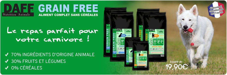 Daff Grain Free pour les chiens