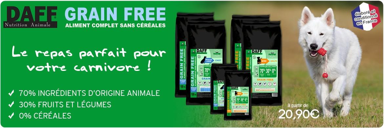 Daff Grain Free chiens