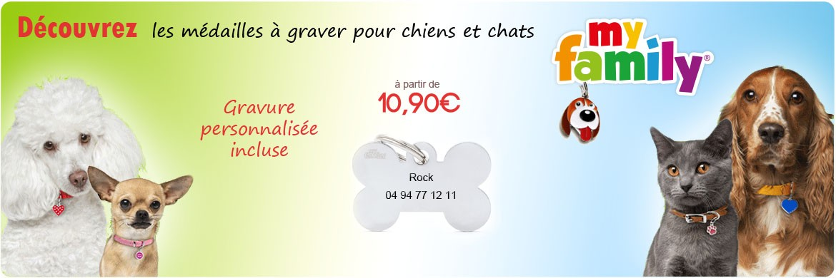 medaille chien chat personnalisee