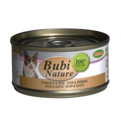 Bubi Nature chat thon et fromage 70g