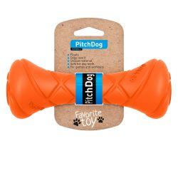 PitchDog haltère 19cm orange