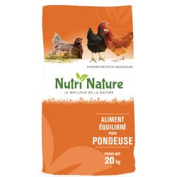 Nutri Nature Pondeuse Plus Granules 20KG