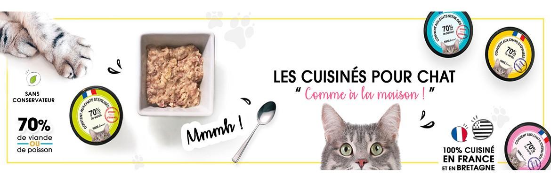 Cuisinés pour chats
